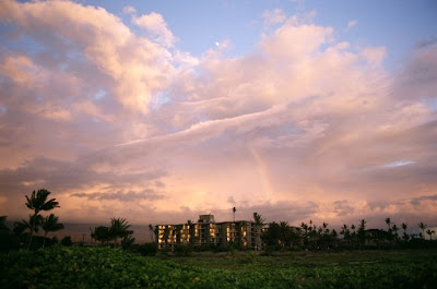 Sunset Skyscape, Maui, Summer 2008