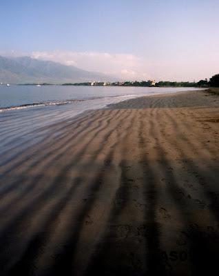 Beach Stripes, North Kihei, Maui, May 2009