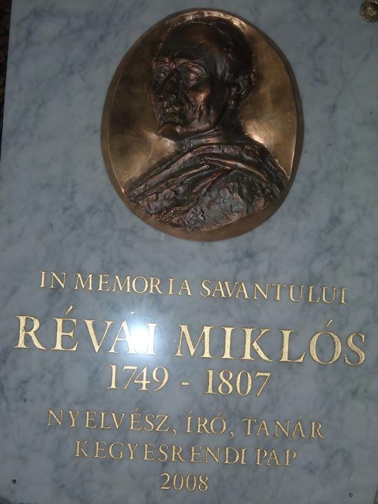 Placa comemorativa de la Sannicolau Mare