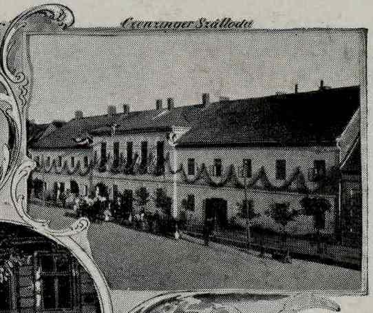Hotelul Czenczinger din Sannicolau Mare  dezvelirea statui lui Revai Miklos