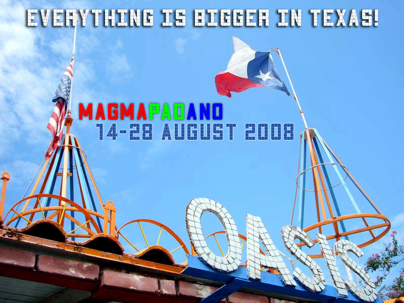 Everything is BIGGER in Texas!