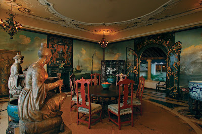 10 >> Vizcaya Museum Shop: Vizcaya's Breakfast Room and it's Chinoiserie