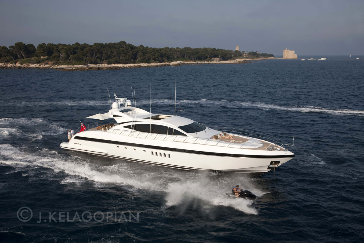 Mangusta yacht charter seabob great vacation luxury for By the cabin catamaran charters