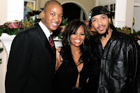 NBA Star Eric and RHOA DeShawn Snow with unidentified person