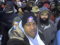 plezWorld on the National Mall before the Inauguration