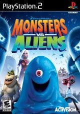 Monsters Vs Aliens USA - Ps2 - 2009