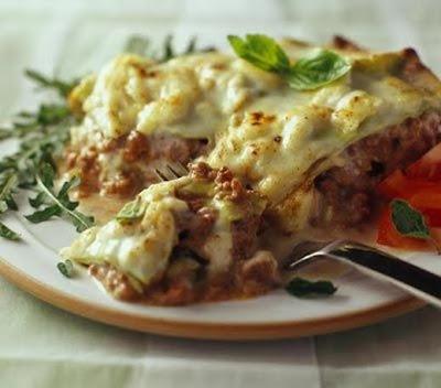 اللازانيا بخلطة الجبن - طريقة عمل اللازانيا بخلطة الجبن