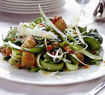 Late-summer green salad - LEBANESE RECIPES