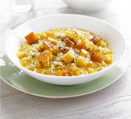 Simple squash risotto recipe
