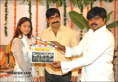 Ravi Teja &#8211; Ileana to pair for a  new film