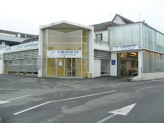 Pontivy Hospital, Brittany, Emergency unit