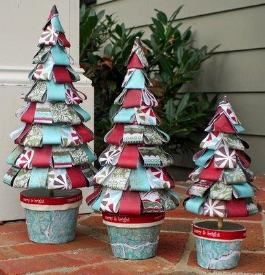 El arte de crear actividades de aula rboles y adornos for Adornos navidenos que se pueden hacer en casa