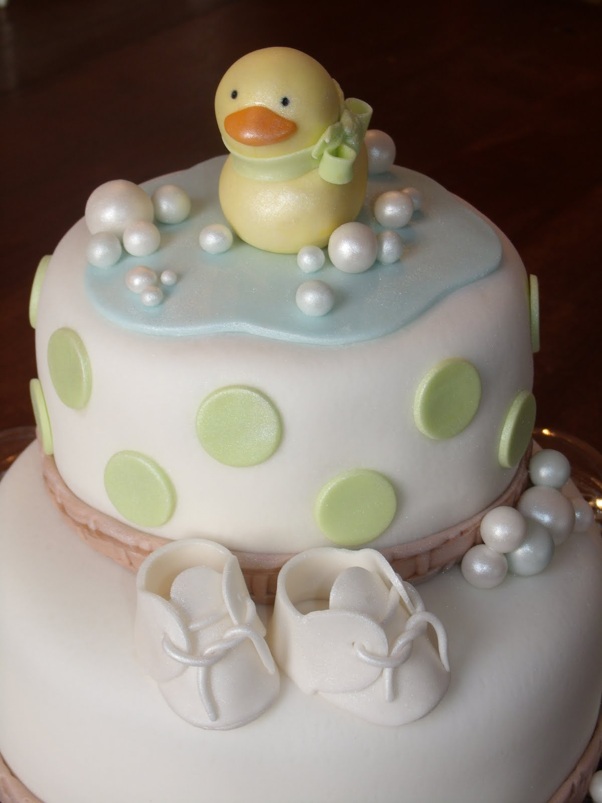 Frog prince Rubber Ducky Baby Shower