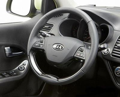 Burlappcar: All new Kia Picanto interior photos