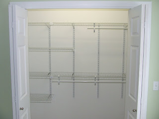 one of the tasks that i needed to do for the new babyu0027s room was to install some closet shelving i like using closetmaid shelving