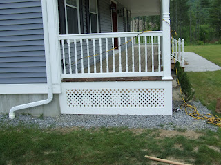 Vinyl Posts and Railings