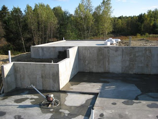 picture of house foundation slab