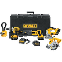 DeWalt+9+Tool+Kit Home Improvement Tool Gift Suggestions