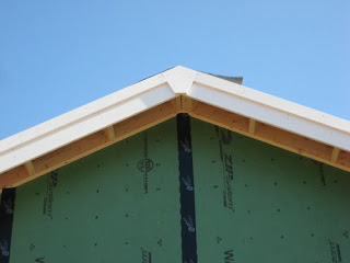 picture of PVC fascia trim boards