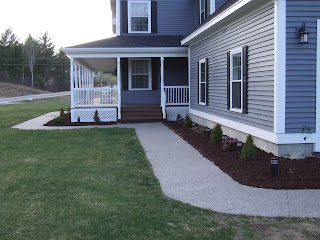picture of house with PVC trim boards