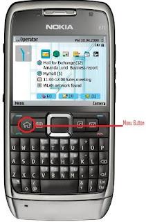 through my own eyes how to setup the alarm on a nokia e71 rh deshantan blogspot com Nokia N95 Nokia N8