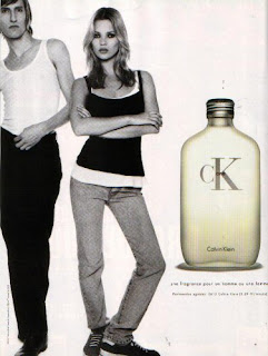Ck one Advertisement Kate Moss