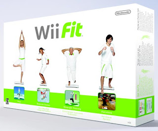 Wii Fit Box Back