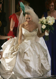 Carrie Bradshaw in Vivienne Westwood Wedding Gown