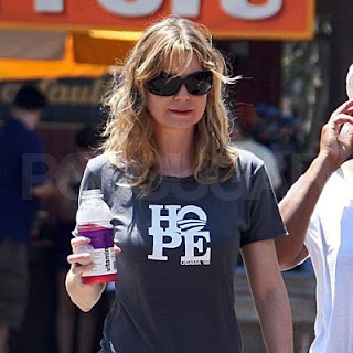 Ellen Pompeo Obama Hope T-Shirt
