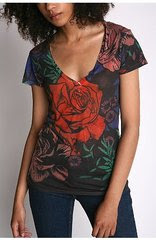 Urban Outfitters Sublimated Stain Glass Tee in Allison