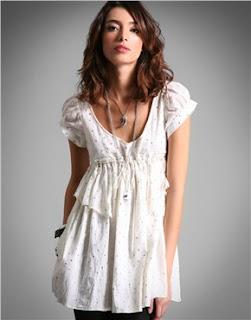 ASOS.com Sass & Bide Glitter Dot Cotton Babydoll Dress