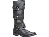 Fiorentini + Baker Black Leather Boots