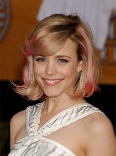Rachel McAdams Pink Hair
