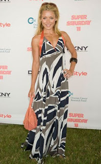 Kelly Ripa Maxi Dress