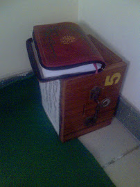 My Qur'an at Musholla Office