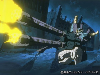 Mobile Suits shoot
