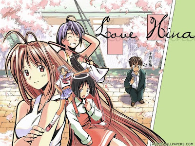 Love Hina and all friends wallpaper