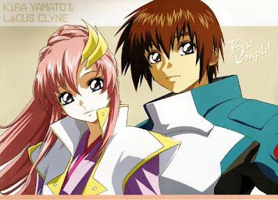 Kira Yamato and Lacus Clyne