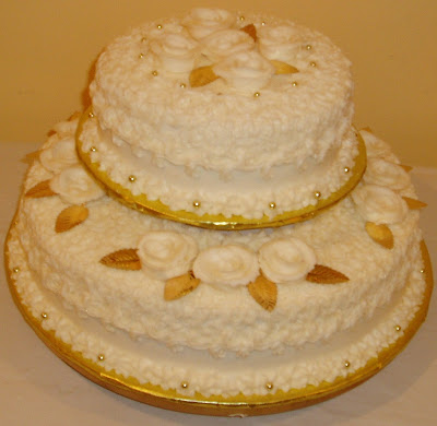 Two Tier Round Birthday Cakes