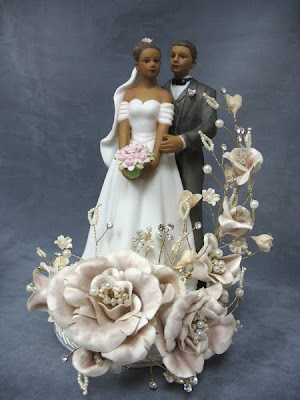 Marilyn\'s Caribbean Cakes: Vintage African American Cake Topper