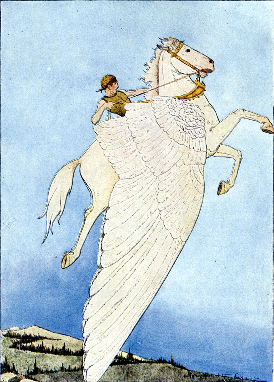 Mythological Beasties and Co.: Pegasus