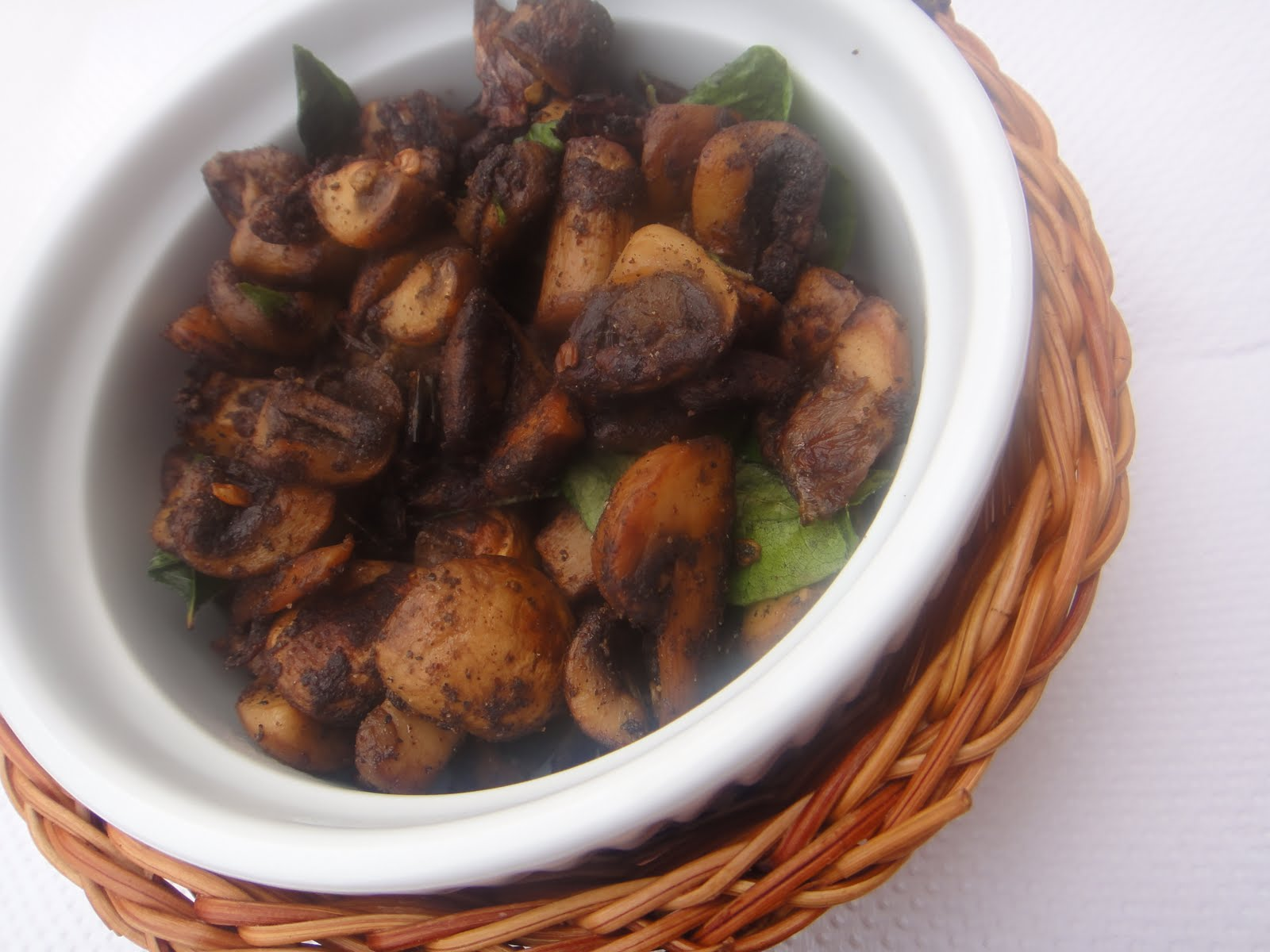 how to cook mushroom fry