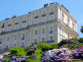 Beautiful architecture in Biarritz