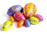 The Easter Bells come with Chocolate Eggs. Happy Easter! px easter eggs