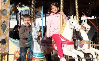 Best in Paris, the carrousel