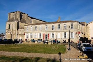 La maison du vin de Saint-Emilion