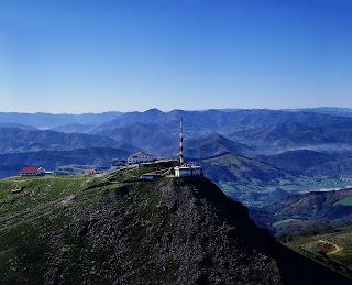 Rhune mountain in Pyrénées Atlantiques