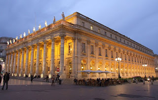 Grand théâtre in Bordeaux