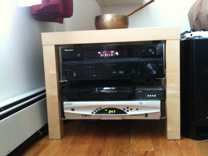 IKEA Lack TV Home Theater
