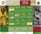 Calendario SEP 2010-2011